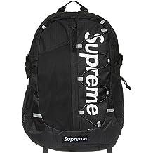 c24e35e589fe6 Supreme Italia Unisex Rucksack Bagpack Tasche Streetwear rot schwarz blau  kamo