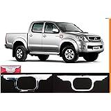 Toyota Hilux VIGO MK6cromado Kit de luz de lámpara Indicador lateral, par 2Pcs