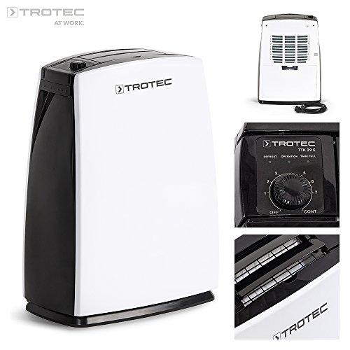 TROTEC Luftentfeuchter TTK 29 E (max. 10 l/Tag)