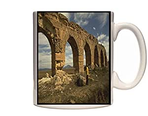 Mug 1304 525000 Roman Architecture At Aqueduct Tunisia Ceramic Cup Gift Box