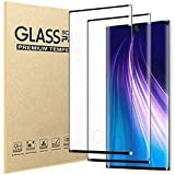 [2 Pack]Samsung Galaxy Note 10 Screen Protector,HD Clear 9H Hardness Scratch Resistant Tempered Glass Protective Film for Sam
