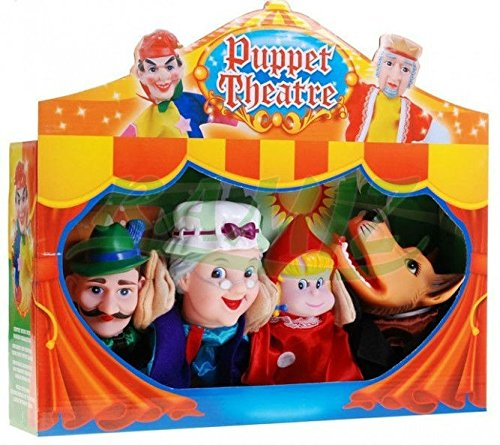 """Marioneta de figuras con el teatro de marionetas 77024 """"Red Riding Hood"""" - marioneta de mano"""