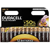 Duracell Plus Power - Pilas (alkaline, AA/LR6)