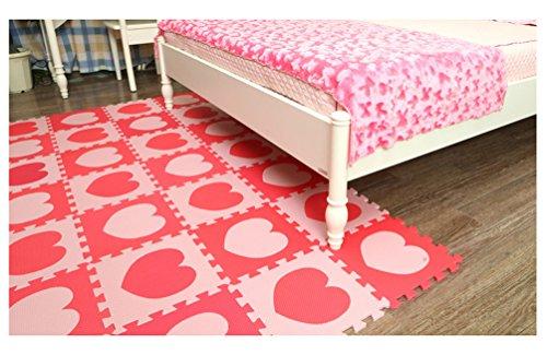 Tappeto Morbido Per Gattonare : Menu life pcs rosa e rosso per bambini morbido pop out puzzle