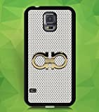Charmed Samsung Galaxy S5 Case Brand Logo Ferragamo Brand Logo Phone Csae for Samsung Galaxy S5 Protective Back Cover for Samsung Galaxy S5 (I9600)