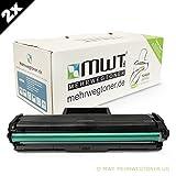 2x MWT Toner für Samsung Xpress SL-M 2022 W ersetzt MLT-D111S Black Schwarz MLT-D111S/ELS