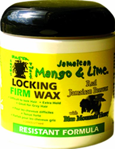 Jamaican Mango & Lime Resistant Formula Locking Firm Wax, 180ml