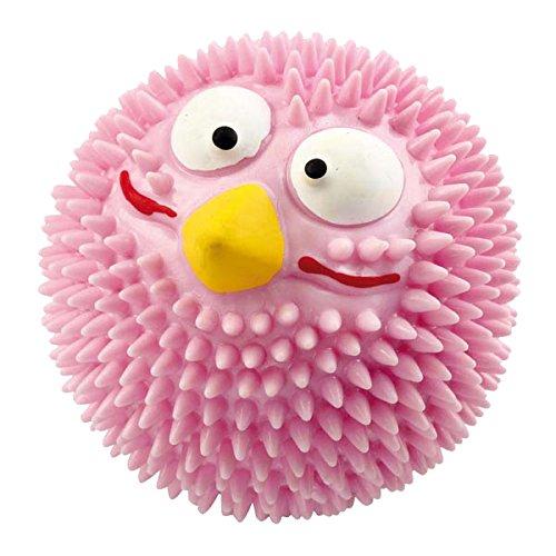 europet-bernina-lucky-bird-303-421369-spiky-ball-giocattolo-per-cani-rosa-fragola-diametro-8-cm