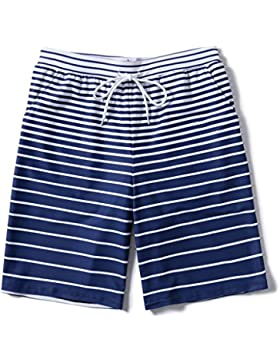 LINGZHIGAN Pantalones de playa Hombres sueltos de gran tamaño de secado rápido Seaside Vacation Couple Travel...