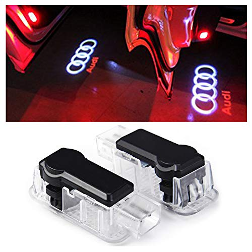 Inlink 2 x Cree Car Door Light Ghost Shadow Light Logo Projecto