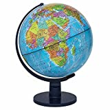 #1: STARVIN Premium Universal Globe || Table Top Political World Globe ||With Time Scale || Scratch Proof Surface || Ideal for Children || For Office|| For School || 12 Inch || Rotating Globe || K-01