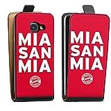 DeinDesign Samsung Galaxy A3 Duos 2016 Tasche Hülle Flip Case Mia san mia FC Bayern München Spruch