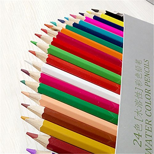 Sukisuki 12/18/24/36 crayons de couleurs Aquarellable aquarelle Art Sketch Outil