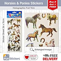 Fun Stickers Horses and Pony
