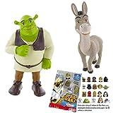 Lote 2 Figuras Comansi Shrek y ASNO