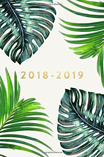 """2018-2019: Daily Monthly & Weekly Academic Student Planner   2018-2019: Ferns, August 2018 - July 2019, 6"""" x 9"""" (Academic Student Planner with ... Women, Teenagers, Girls, Students & Teachers)"""