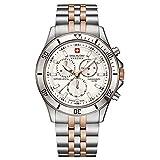 Swiss Military Hanowa SM06-5183-7-12-001 - Reloj de pulsera para Hombre, blanco / plata