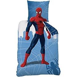 CTI Juego Spiderman Manhattan Deguisement algodón Azul 200x 140cm