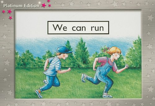 We Can Run: Leveled Reader (Levels 1-2) Level 2 (Rigby Pm Platinum Leveled Reader (Levels 1-2))