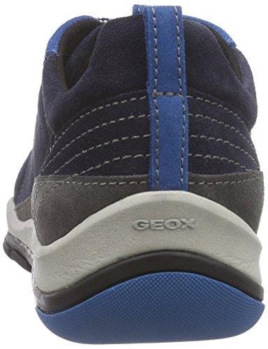 Geox - D Kander B, Scarpe da ginnastica Donna Blu (Blau (CF49ANAVY/ANTHRACITE))