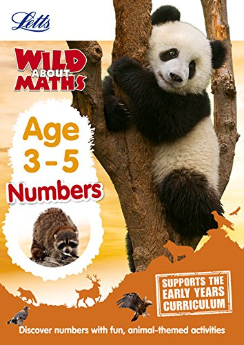 Maths _ Numbers Age 3-5 (Letts Wild About)
