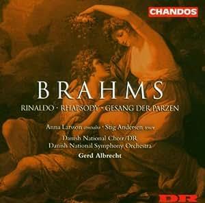 Rhapsodie Pour Contralto, Rinaldo Op. 50, Le Chant Des Parques