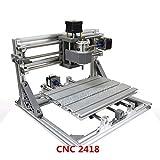 2418 GRBL Control DIY Mini CNC Carving Fräsen Graviermaschine Arbeitsbereich 24x18x4.0cm 3-Achs-PCB Fräsmaschine, Wood Router, v 2.5