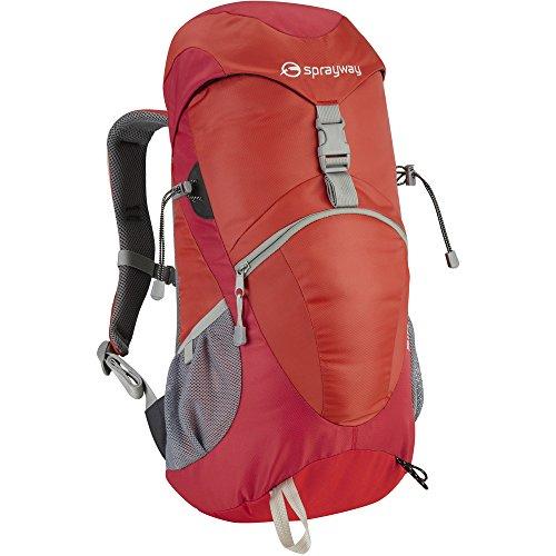 sprayway-ladies-sirius-25-litre-backpack-rucksack-bag-red-563237