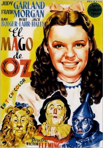 Posterlounge Alubild 30 x 40 cm: Der Zauberer von Oz (spanisch) von Everett (Der Zauberer Von Oz Tinman)