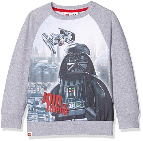 LEGO STAR WARS 160964, Sweat-Shirt Garçon, Gris Clair - 5 ans (Taille fabricant: 5 ans)