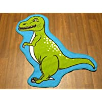 Non Slip Kids Dinosaur T-Rex Playmat/Rug 86cm x 110cm