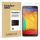 Samsung Galaxy Note 3 Neo Protector de Pantalla, iVoler® Protector de Pantalla de Vidrio Templado Cristal Protector para Samsung Galaxy Note 3 Neo N7505i / N7505- Dureza de Grado 9H, Espesor 0,20 mm, 2.5D Round Edge-[Ultra-trasparente] [Anti-golpe] [Ajuste Perfecto] [No hay Burbujas]- Garantía Incondicional de 18 Meses