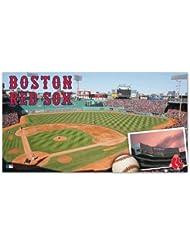 Wincraft Tapis Motif Boston Red Sox Fenway Park Tapis de baseball MLB