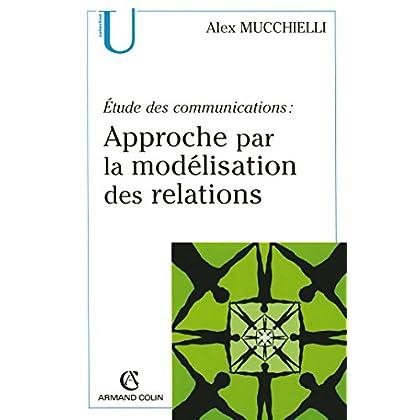 Étude des communications : approche par la modélisation des relations