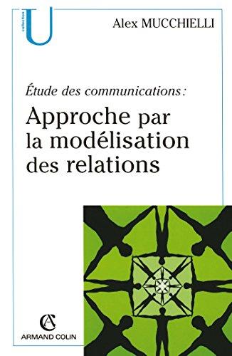 Étude des communications : approche par la modélisation des relations par Alex Mucchielli