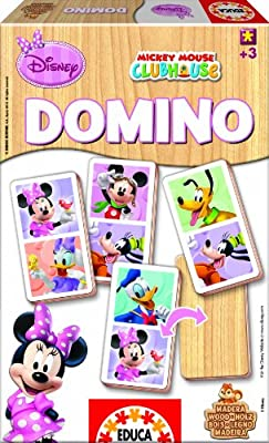 Educa Borrás 15363 - Domino Madera Minnie de Educa Borrás