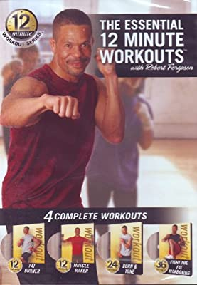 The Essential 12 Minute Workouts (Fat Burner / Muscle Maker / Burn & Tone / Fight The Fat Kickboxing) from Food Lovers Fat Loss Systems
