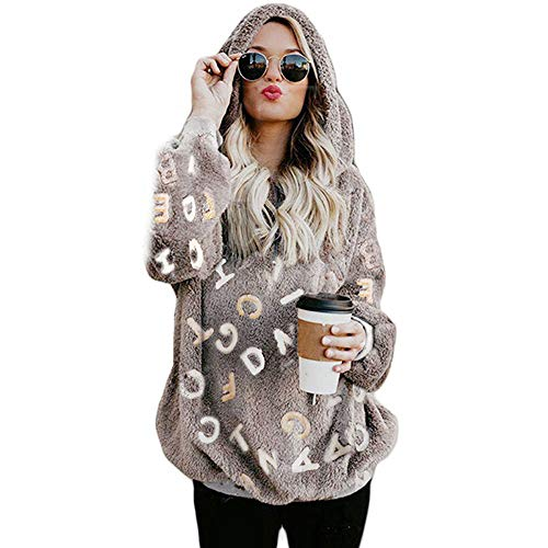 b560994804ee Btruely Herren Chaqueta Suéter para Mujer, Abrigo Jersey Mujer ...