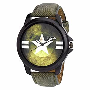 Relish Casual Analogue Multicolour Dial Men's Watch - RELISH-508