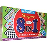 99Shoppy 8 In 1 Magnetic Board Game With Chess, Ludo, Snake & Ladders And Many More
