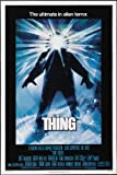 THE THING MOVIE POSTER PRINT APPROX SIZE 12X8 INCHES