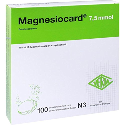 Magnesiocard 7,5 mmol, 100 St. Brausetabletten 7.5