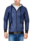 Campus Sutra Navy Blue Mens Jacket(AW15_...