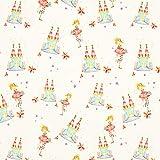 Fabulous Fabrics Jerseystoff Prinzessin Schloss