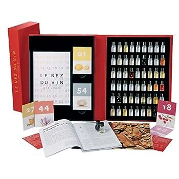 Le Nez du Vin : 54 arômes, collection complète en français (coffret)