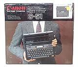 Canon S-51 Schreibmaschine