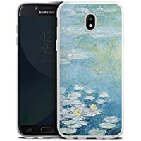 Samsung Galaxy J5 2017 Silikon Hülle Case Schutzhülle Seerosen Claude Monet Kunst