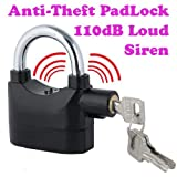 Dealcrox Details about Anti Theft Burglar Pad Lock Alarm Security Siren Home Office Bike Bicycle Shop(Dl-410F)