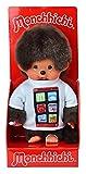 Sekiguchi 232500 - Monchhichi mit Smartphone Shirt, ca. 20 cm
