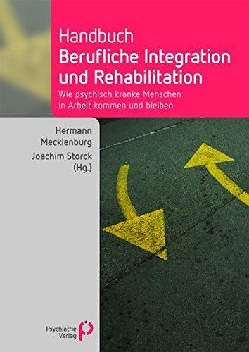 Cover »Handbuch berufliche Integration und Rehabilitation«